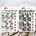 Santa's Little Helper | Hobonichi Cousin Daily Sticker Kit