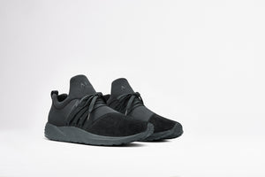 Raven Nubuck S-E15 Triple Black - Men