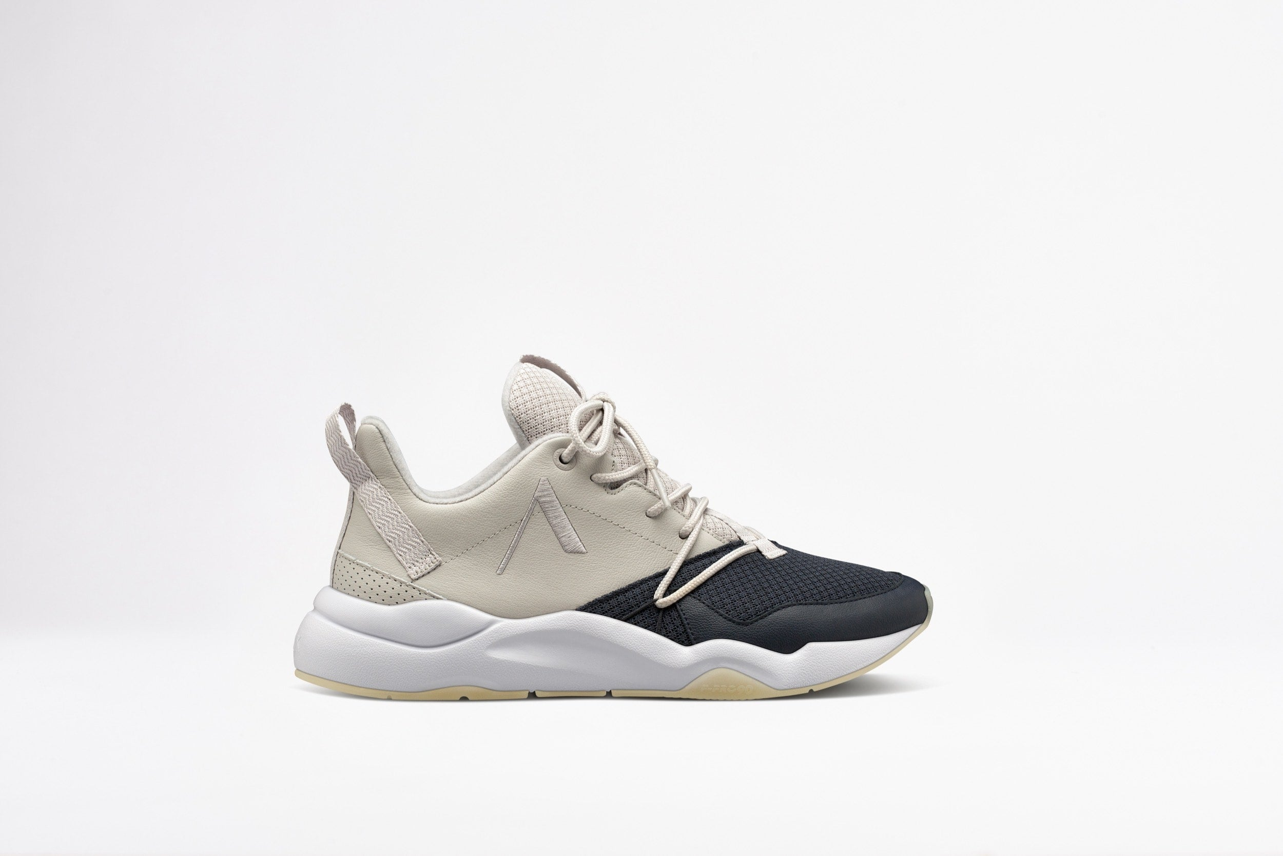 ARKK Copenhagen - Main Line Asymtrix Mesh F-PRO90 Wind Grey Ombre Blue Ivory Gum - Men Asymtrix Wind grey