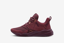 ARKK Copenhagen - Superior Line Asymtrix Suede F-PRO90 Oxblood Red Mock Orange - Men Asymtrix Oxblood Red