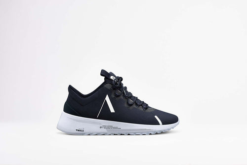 ARKK Copenhagen - Essential Line Axionn Mesh PWR55 Midnight White - Women Axionn Midnight