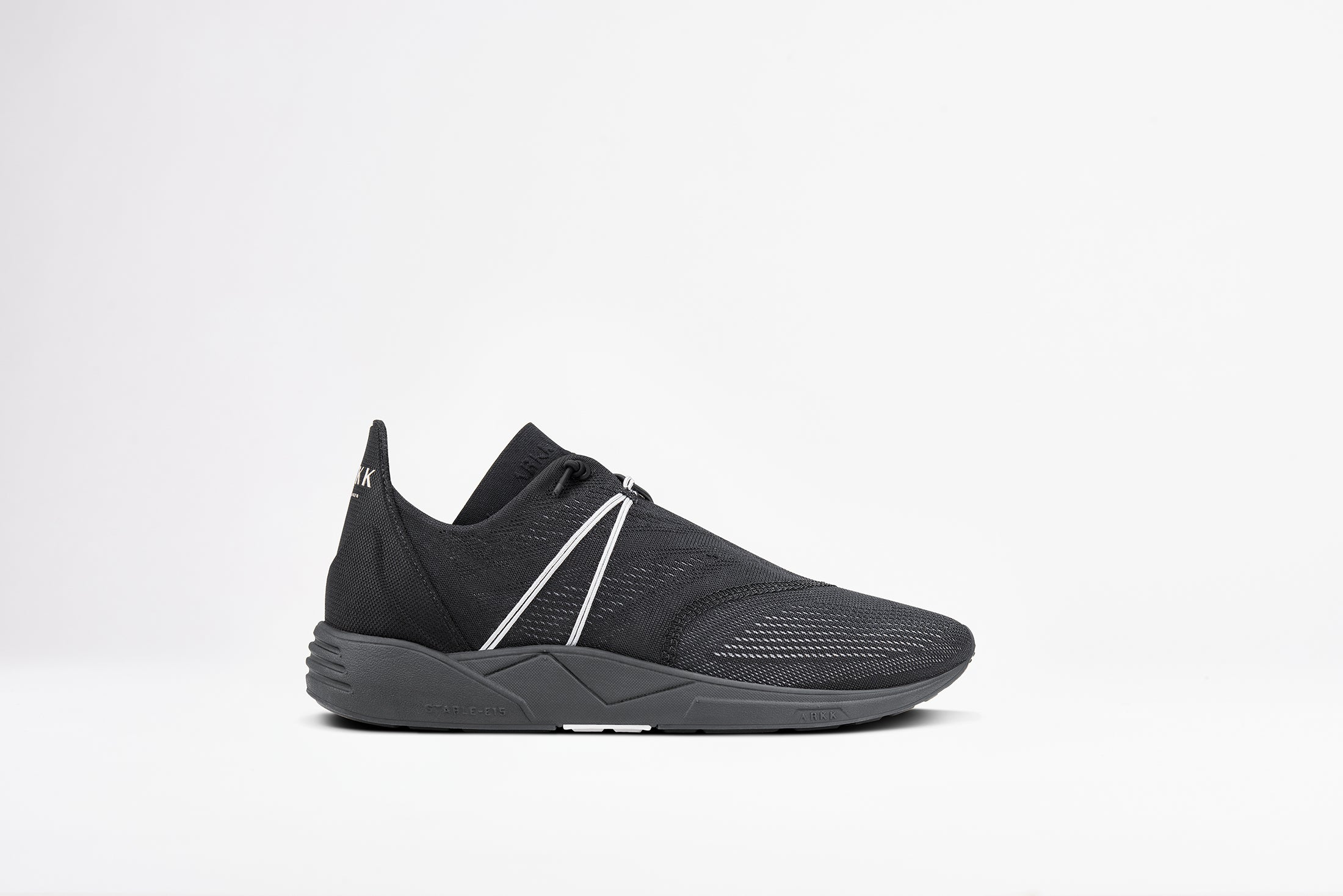 ARKK Copenhagen - Essential Line Eaglezero CM S-E15 Black Light Grey - Women Eaglezero