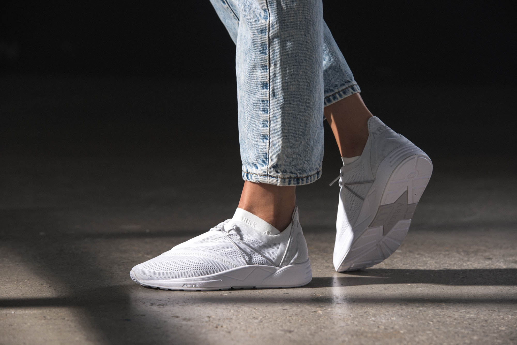 ARKK Copenhagen - Essential Line Eaglezero CM S-E15 White Grey - Women Eaglezero
