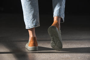 ARKK Copenhagen - Main Line Eaglezero Suede S-E15 Army Brown - Women Eaglezero