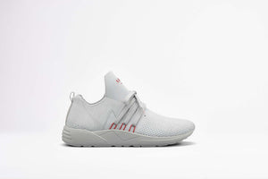 ARKK Copenhagen - Main Line Raven FG 2.0 S-E15 Disrupted Light Grey Burnt Red - Men Raven Light Grey