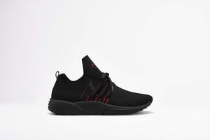 ARKK Copenhagen - Main Line Raven FG 2.0 S-E15 Triple Black Burnt Red - Men Raven Black