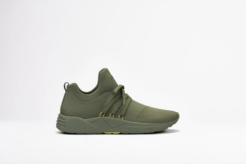 ARKK Copenhagen - Essential Line Raven Mesh S-E15 Army Soft Yellow - Men Raven