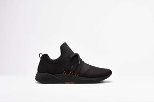 ARKK Copenhagen - Essential Line Raven Mesh S-E15 Black Orange - Women Raven Black