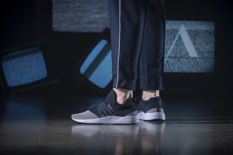 ARKK Copenhagen - Iconic Line Raven Mesh S-E15 Midnight White-MEN Raven Midnight