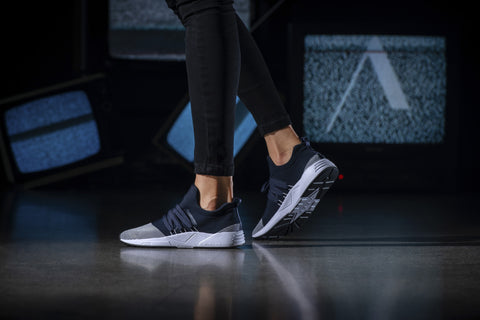ARKK Copenhagen - Iconic Line Raven Mesh S-E15 Midnight White-WOMEN Raven Midnight