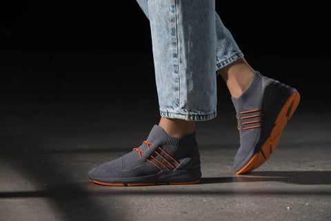 ARKK Copenhagen - Main Line Spyqon  FG H-X1 Shark Grey Orange - Women Spyqon