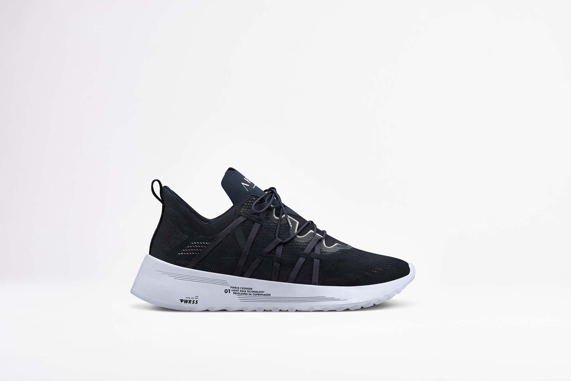 ARKK Copenhagen - Essential Line Velcalite CM PWR55 Midnight White - Men Velcalite Midnight