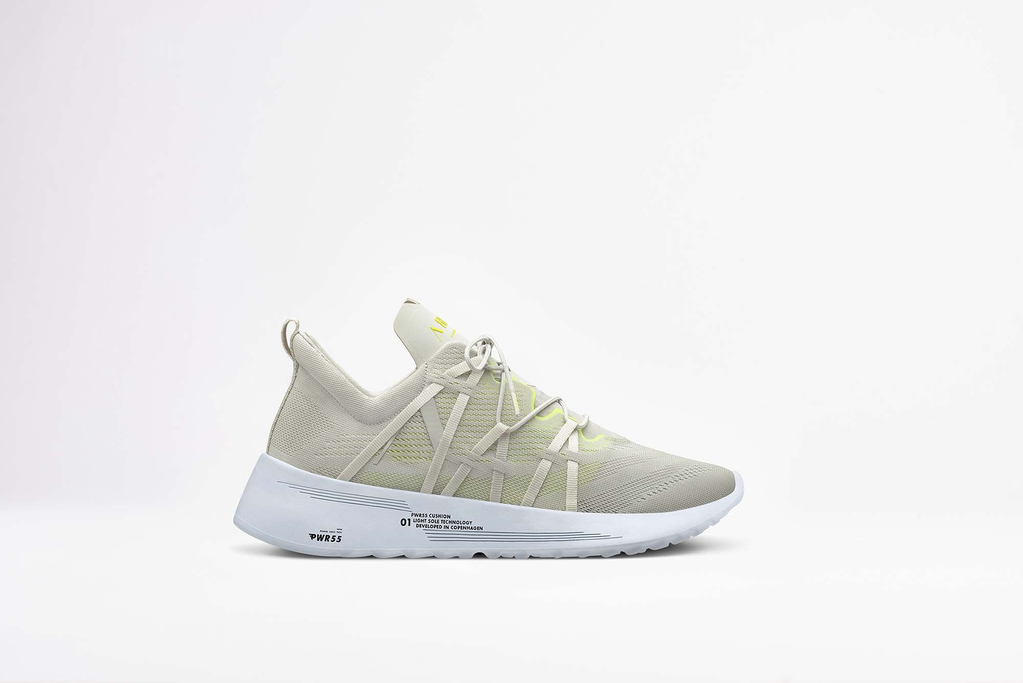ARKK Copenhagen - Essential Line Velcalite CM PWR55 Wind Grey Bright Lemon - Men Velcalite Wind grey