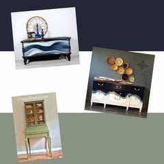 Scenic Route - KT Lyons Design - Crazy Brush Designs Furniture Artist Inspirations