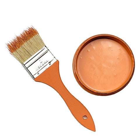 Orange You Glad Chalk Infused Paint