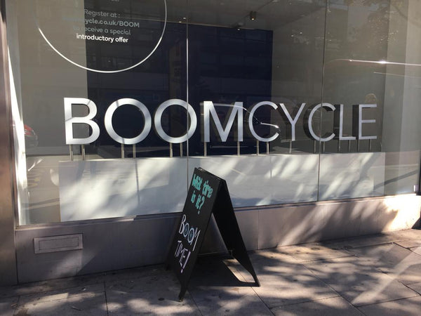 London fitness studio review. Boom Cycle Holborn