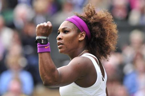 Inspirational women Serena Williams