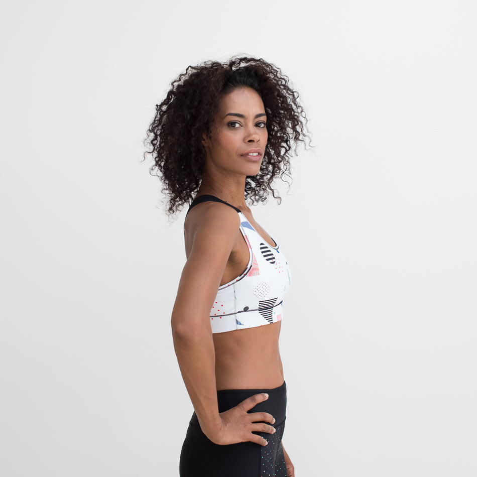 Mid Support Sports Bra