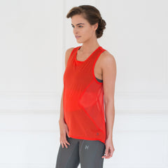 Technical mesh gym vest