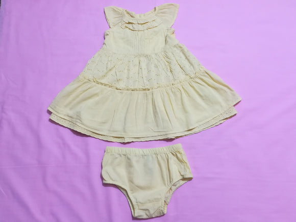 George - Dress & Knickers - 6-9 Months - Preloved & Perfect
