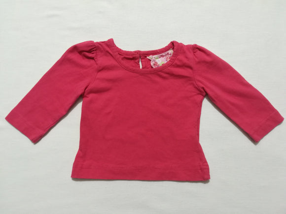 Sugar Pink - Top - 6-9 Months - Preloved & Perfect
