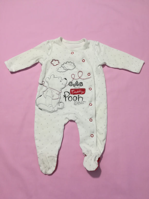 George - Sleepsuit - 0-3 Months - Preloved & Perfect