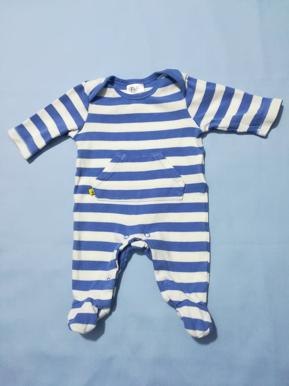F&F - Sleepsuit - Up to 1 Month - Preloved & Perfect