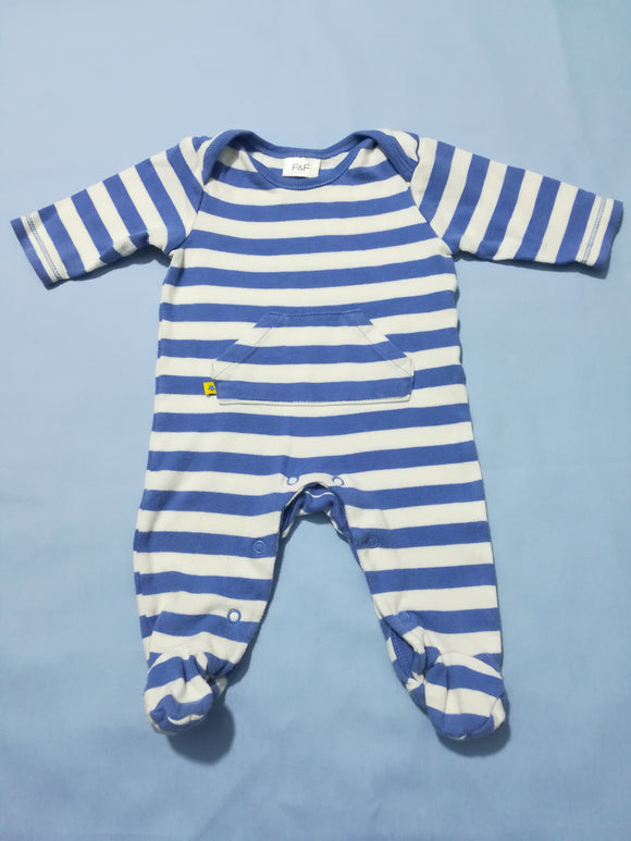 F&F - Sleepsuit - 0-3 Months - Preloved & Perfect