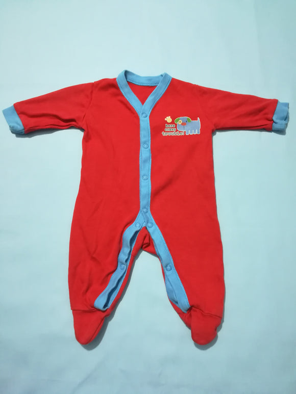 George - Sleepsuit - First Size - Preloved & Perfect