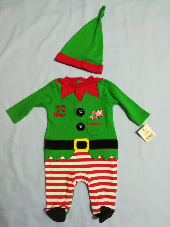 George - Christmas Outfit - First Size - Preloved & Perfect