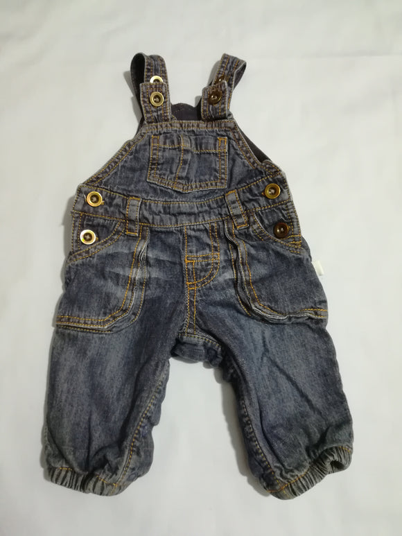F&F - Dungarees - 0-3 Months - Preloved & Perfect