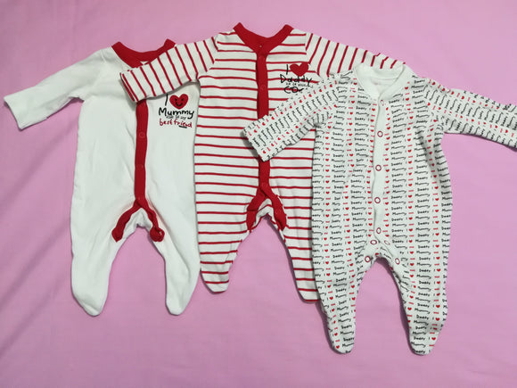 Mothercare - Sleepsuits - Tiny Baby