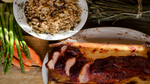 Cedar Plank Pork Tenderloin with Farro Risotto