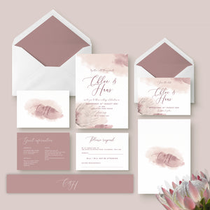 Wedding Invitation Bundles by The Stationery Garden
