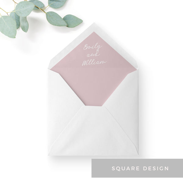 Blossom-Blush-Envelope Liners-Square