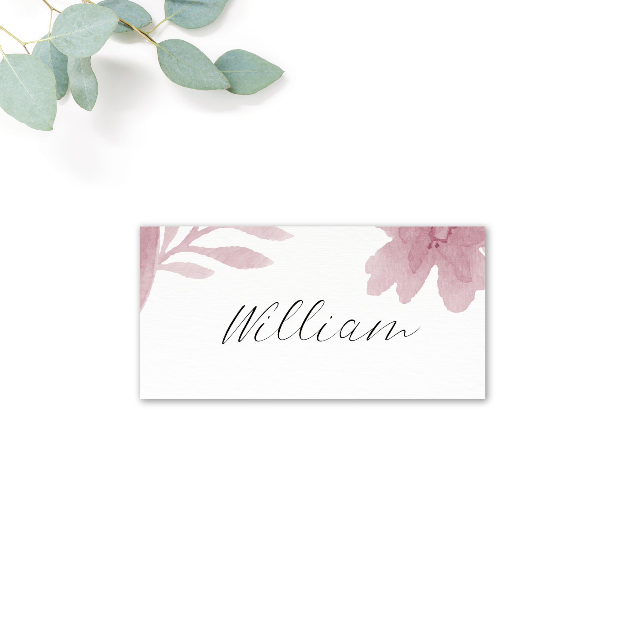Blossom Blush Pink Place Card