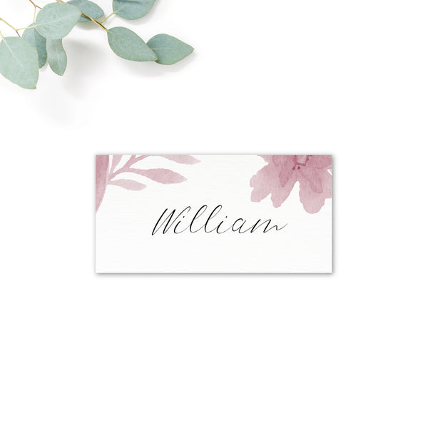 Blossom Personalised Place Cards