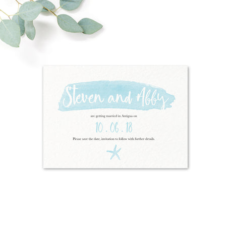 Estrella Personalised Save the Date