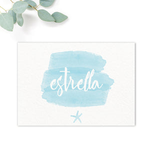 Estrella Wedding Table Names