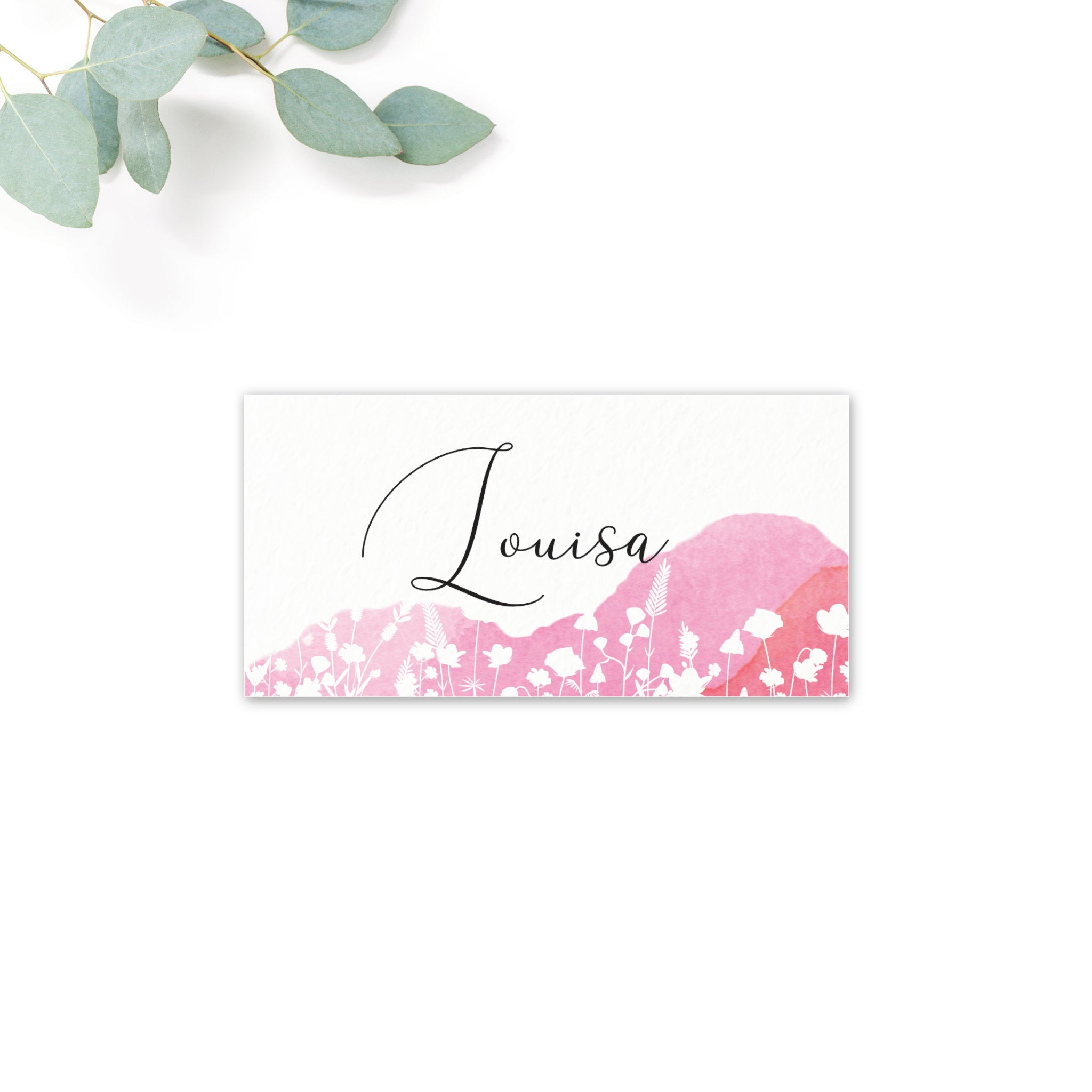Festival Personalised Place Cards