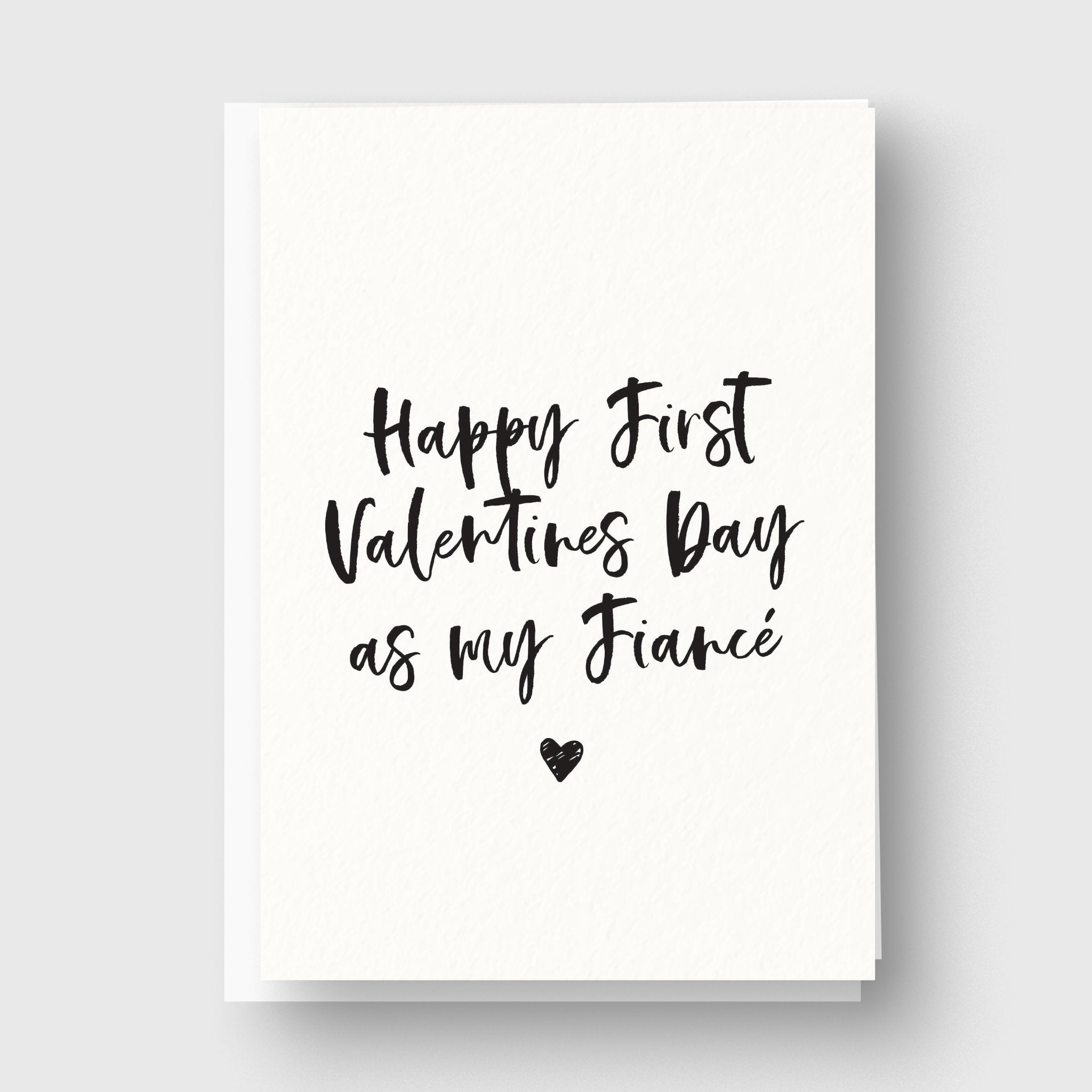 First Valentines Day Personalised Card