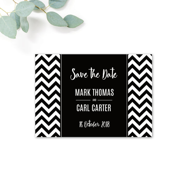 Manhattan Personalised Save the Date
