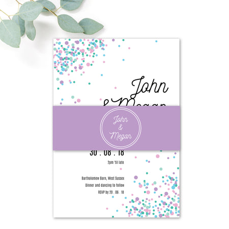 Melbourne Personalised Wedding Invitations