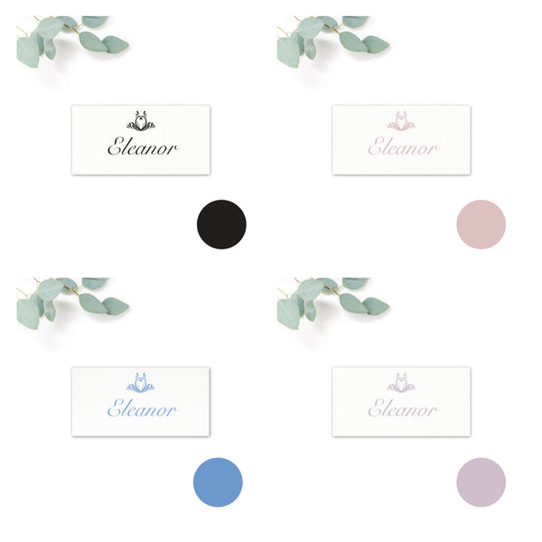 Montpellier Place card colour options