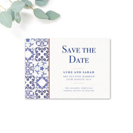 Porto Personalised Save the Date