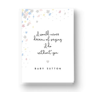 Pretty Petals Pastels Will You Be My Flower Girl / Page Boy / Ring bearer Card