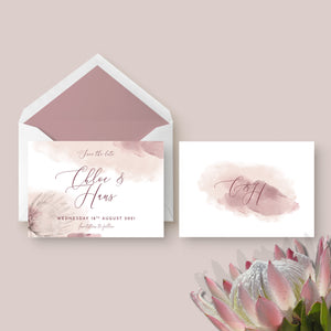 Protea Personalised Save the Date