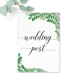 Richmond Wedding Postbox Sign / Print