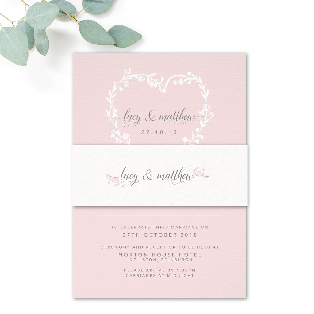 Snowdrop Belly Band – The Stationery Garden