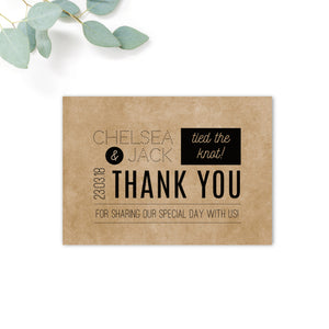 Southbank Kraft Thank You Card